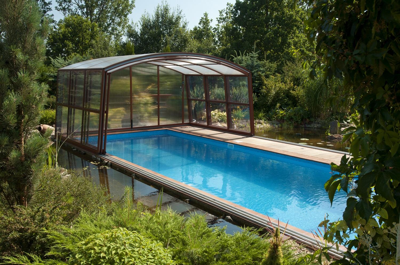 Super gfk schwimmbecken berdachung palace gfk pool for Garten pool abdeckung