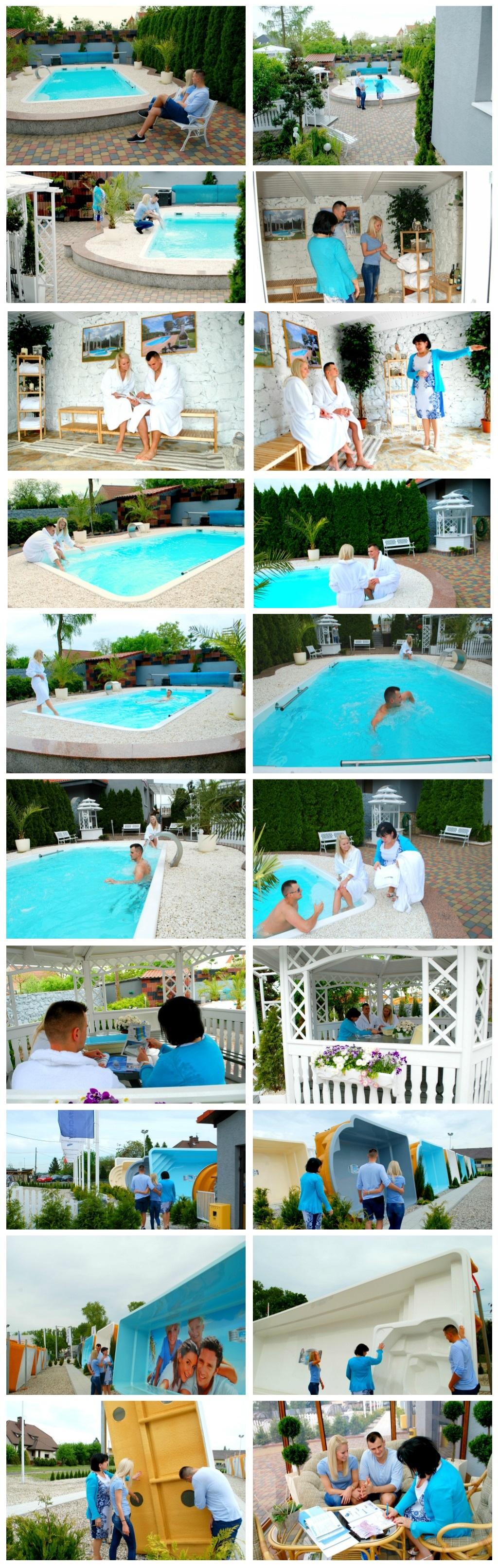 Gfk schwimmbecken ozzy 2 85x2 30x0 85 fertigbecken for Gartenpool gfk