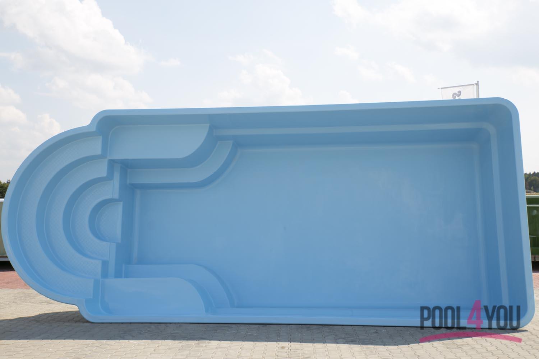 gfk swimming pool hera de luxe 7 50x3 20x1 55. Black Bedroom Furniture Sets. Home Design Ideas